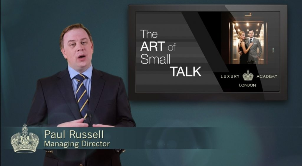 The Art of Small Talk Video