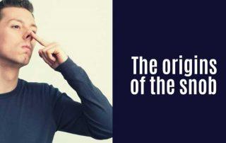 The origins of snob